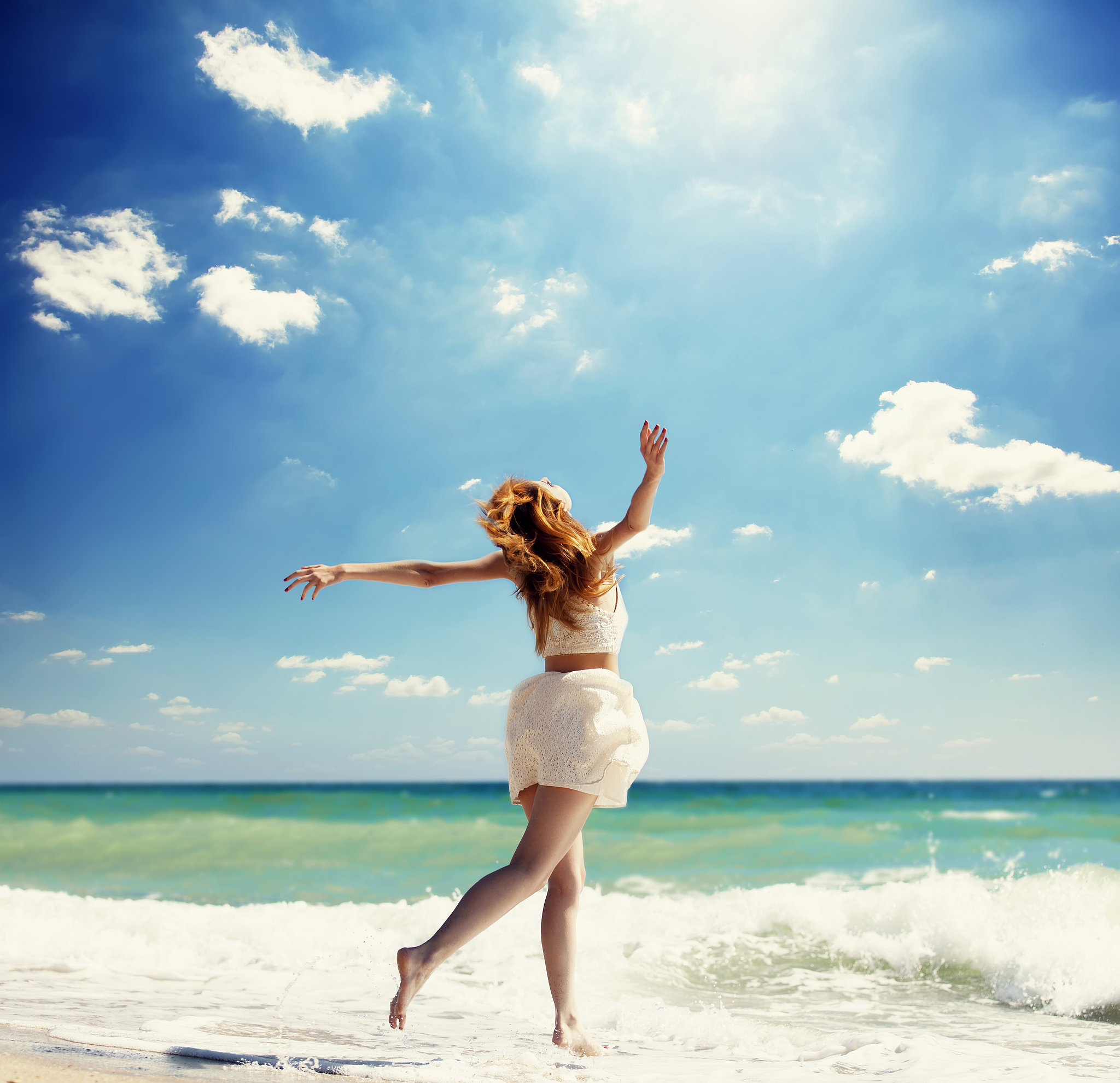 Поздравление днем, картинки море счастья
